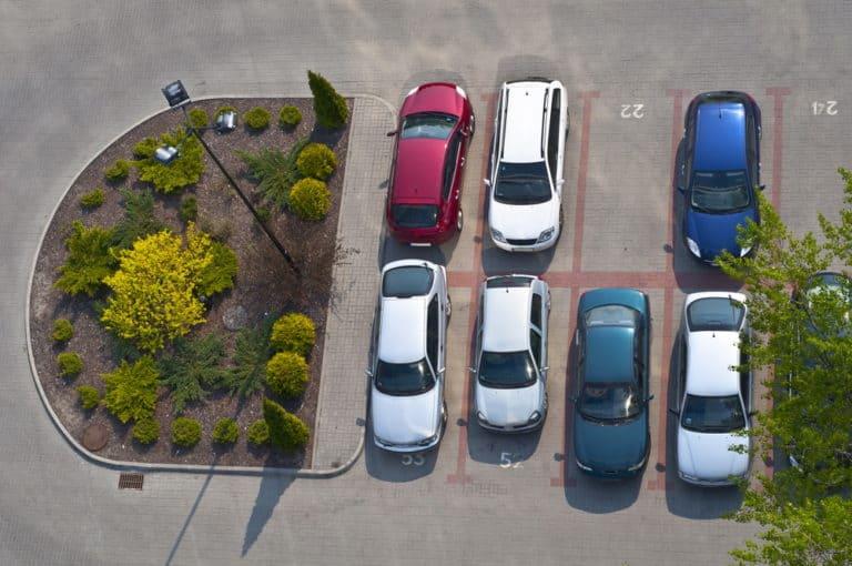 Типы стоянок для автомобилей