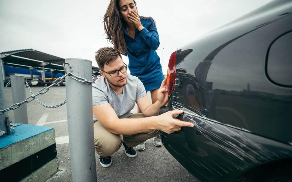 Действия при обнаружении поцарапанного авто картинка