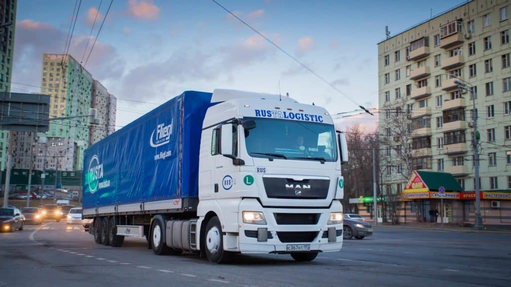 Правила парковки грузового транспорта