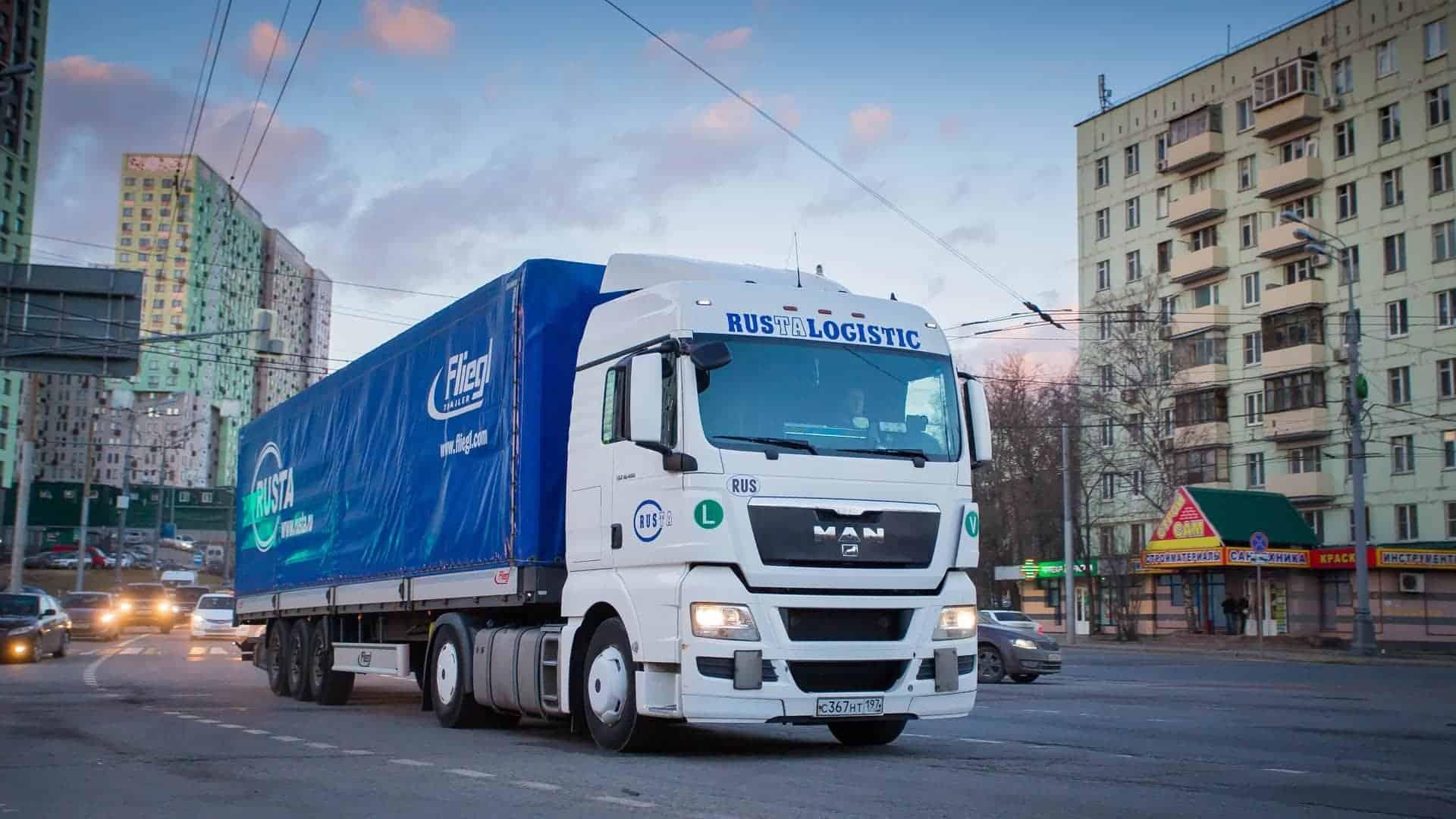 Правила стоянки грузовых автомобилей в жилой зоне